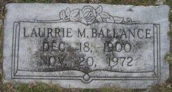 Laurrie M Ballance