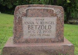 Anna <I>Vavra</I> Betzold