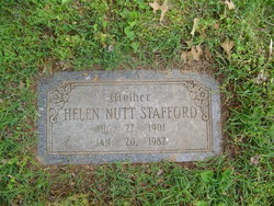 Helen Gladys <I>Nutt</I> Stafford