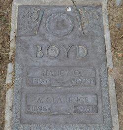 Nancy <I>Over</I> Boyd