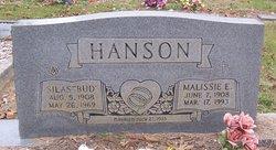 """Silas """"Bud"""" Hanson"""