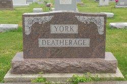 Myrtle E <I>York</I> Deatherage