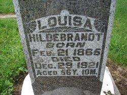 Louisa <I>Ramer</I> Hildebrandt