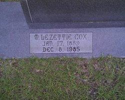 Martha Lezettie <I>Cox</I> Hardee