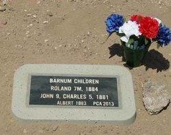 Charles F Barnum