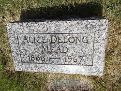 Alice <I>Delong</I> Mead