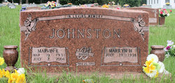 "Marvin Edward ""Buckshot"" Johnston"