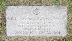 PFC William Walter Lewandowski