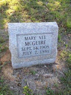 Mary Vee <I>Williams</I> McGuire