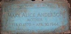 Mary Alice <I>Johns</I> Anderson