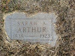 Sarah A. <I>Queener</I> Arthur