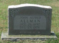 John Alfred Allman