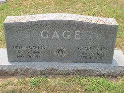 Grace Olivette <I>Clark</I> Gage