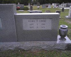 Velma D. <I>Todd</I> Cooke