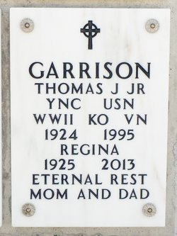 Thomas J Garrison, Jr