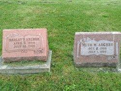 Ruth W. <I>Soots</I> Archer