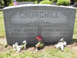 Fannie <I>Heenan</I> Churchill