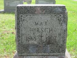 """Maximilian """"Max"""" Hirsch"""