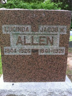 "Lucinda ""Cindy"" <I>Wheeler</I> Allen"
