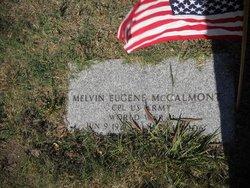 Melvin Eugene McCalmont