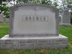 Margaret Veronica <I>Lodge</I> Brewer