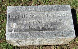 LTJG Carl Horace Upham Davis
