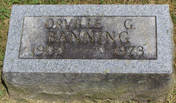 Orville G Banning