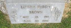 Levera <I>DeBow</I> Brown