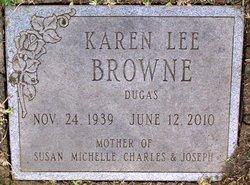 Karen Lee <I>Browne</I> Dugas