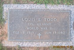 Corp Louis Ernest Todd
