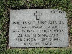 Alice M Sinclair