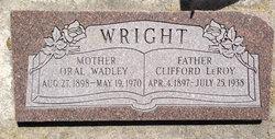 Clifford LeRoy Wright