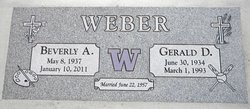 "Gerald David ""Jerry"" Weber"