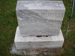 Henry E. Bowman