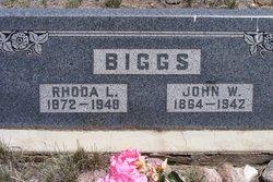 Rhoda Lue <I>Collins</I> Biggs