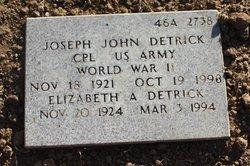 Elizabeth A Detrick