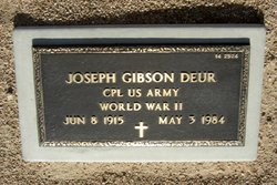 Joseph Gibson Deur