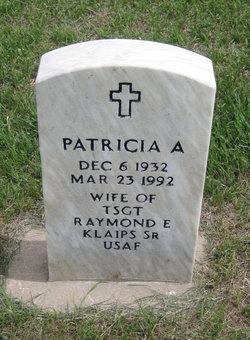 Patricia A Klaips