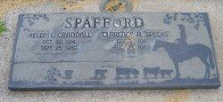 Helen Llewellyn <I>Crandall</I> Spafford