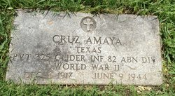 Pvt Jose Cruz Amaya, Jr