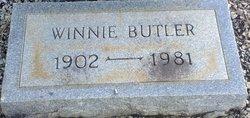 Winnie Mozell <I>Ellison</I> Butler