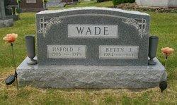 Harold F Wade