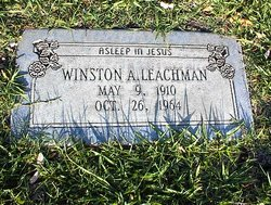 Winston Arvil Leachman