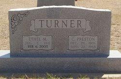 Ethel Mattie <I>Ross</I> Turner