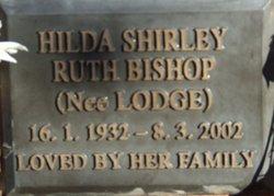 Hilda Shirley Ruth <I>Lodge</I> Bishop