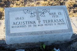 Agustina Postard Terrazas 1843 1931 Find A Grave Memorial