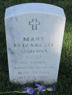 Mary Elizabeth Simons