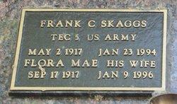 Frank C Skaggs