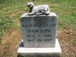 Barbara Jean Dawson