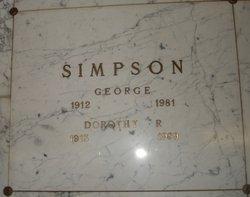 Dorothy Rose <I>Whitley</I> Simpson